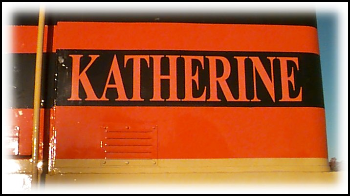 2204's painted 'Katherine' name