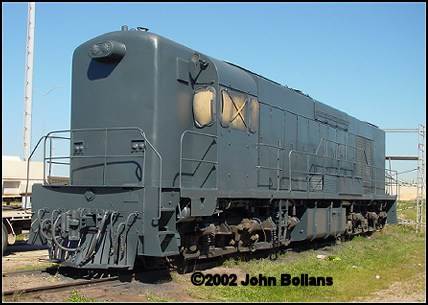 K205 after being undercoated on 20 August 2002