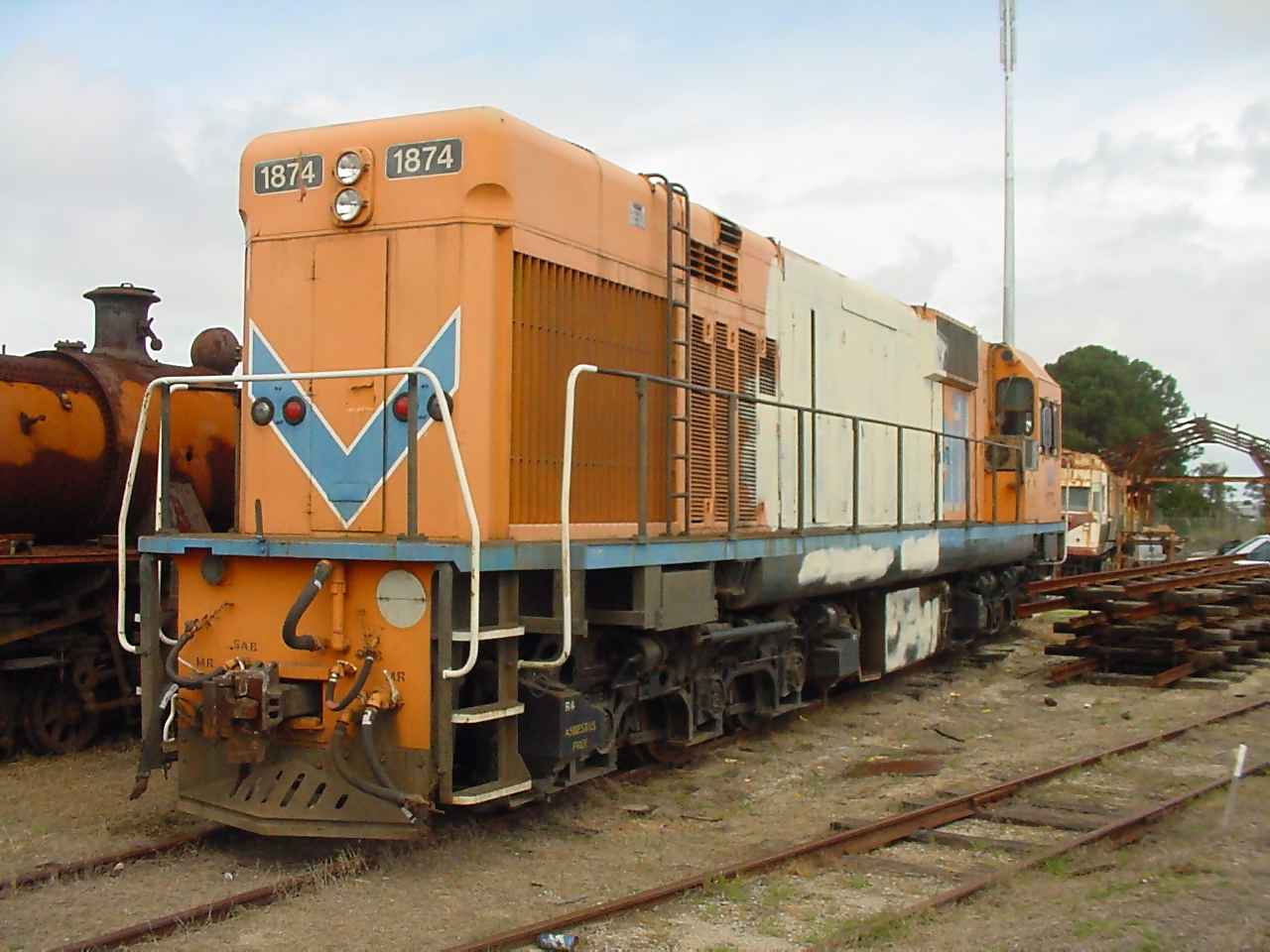 NA1874 at the Rail Transport Museum on 29 September 2001