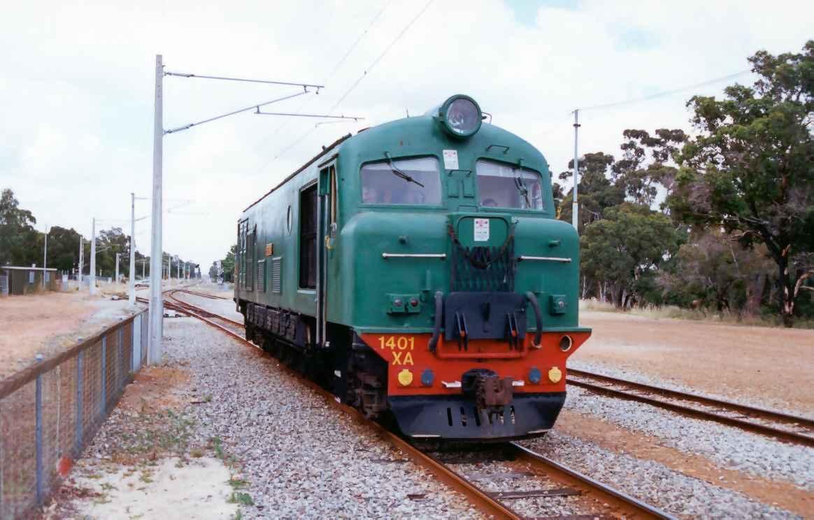 XA1401 'Pedong' at Armadale